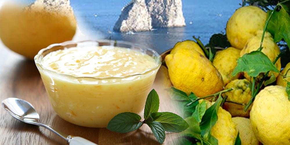 IL Budino al Limone di Capri, Ricetta Veloce