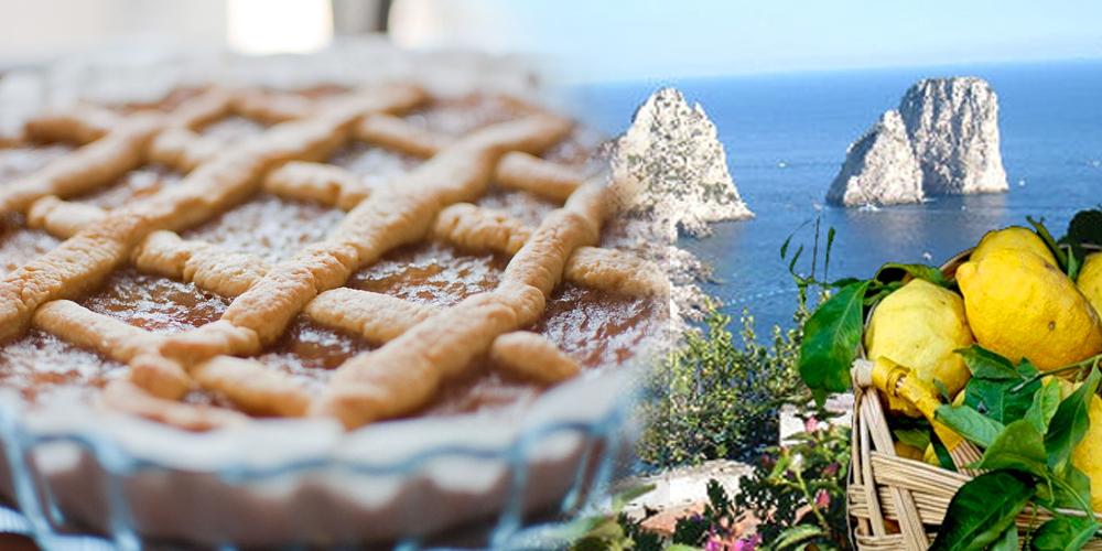 Da Capri la ricetta della Crostata al Limone