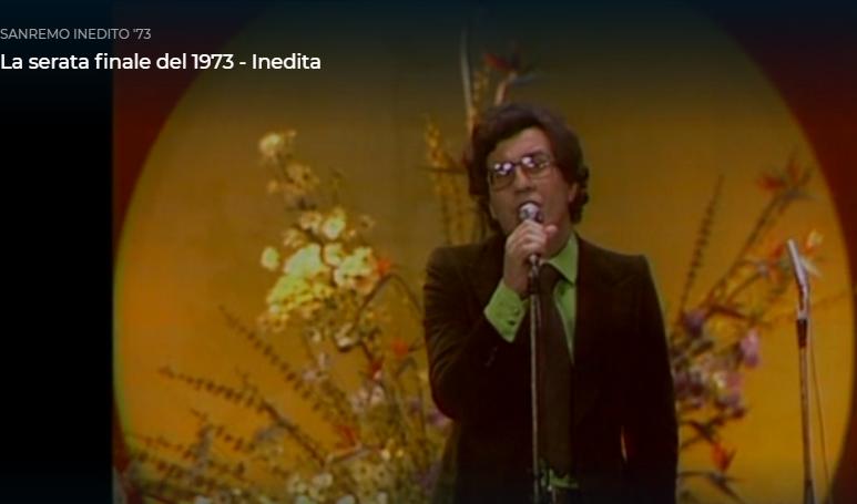 Capri Story. La Vittoria al Festival di Sanremo di Peppino di Capri nel 1973 (FILMATO INEDITO)