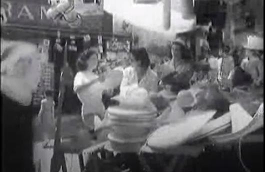 Capri 1953: Luminose giornate di Capri, come eravamo negli anni 50 (VIDEO INEDITO)