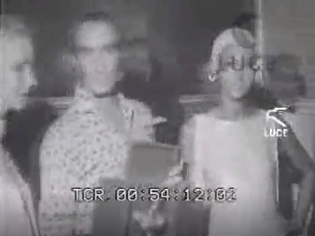"""Capri 1967. La Consegna a Capri dei """"Tiberio d'oro""""  (VIDEO INEDITO)"""