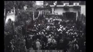 Capri 1938: La sagra dell'uva ad Anacapri alla presenza del ministro Bottai (VIDEO)