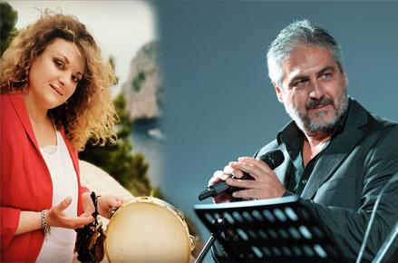 """La Musica di Riccardo Pecoraro e la Voce di Sara Lionetti alla presentazione del Libro """"Un' Altra Capri"""""""
