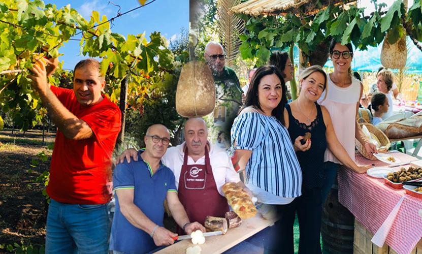 """Grande successo per la """"Festa dell' Uva"""" promossa dalle Cantine La Mura – Terre di Neda nella nuova tenuta ai piedi del Vesuvio"""
