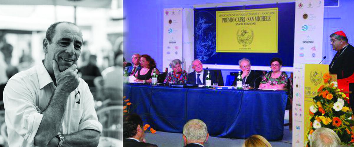 """Capri. Al giornalista Luciano Garofano il Premio San Michele sezione """"Turismo"""" per il volume """" Capri in Etichetta"""" Sabato 10 Ottobre la consegna del prestigioso riconoscimento."""