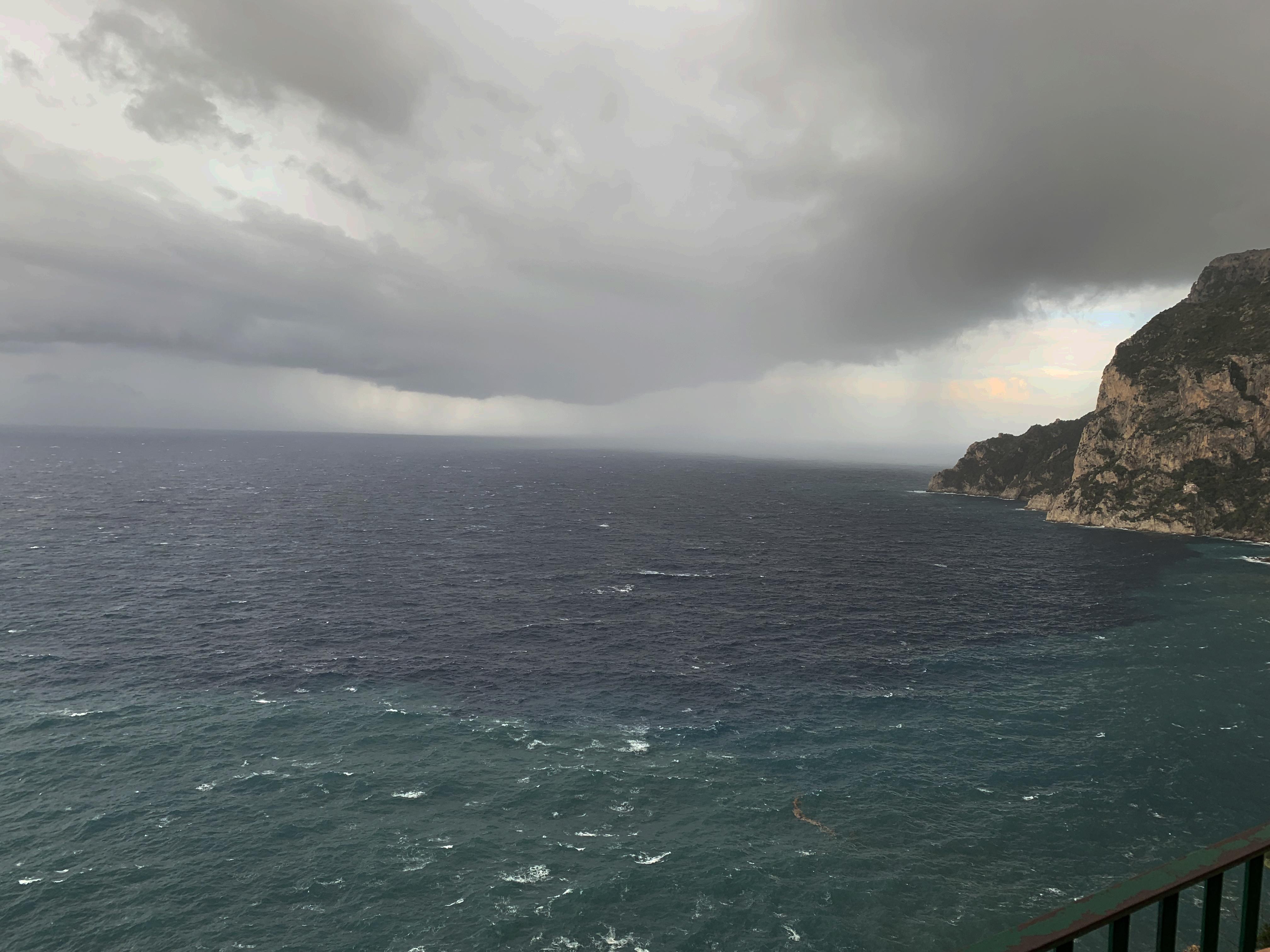 Le Previsioni Meteo a Capri e le Condizioni del Mare del 4 Novembre 2019