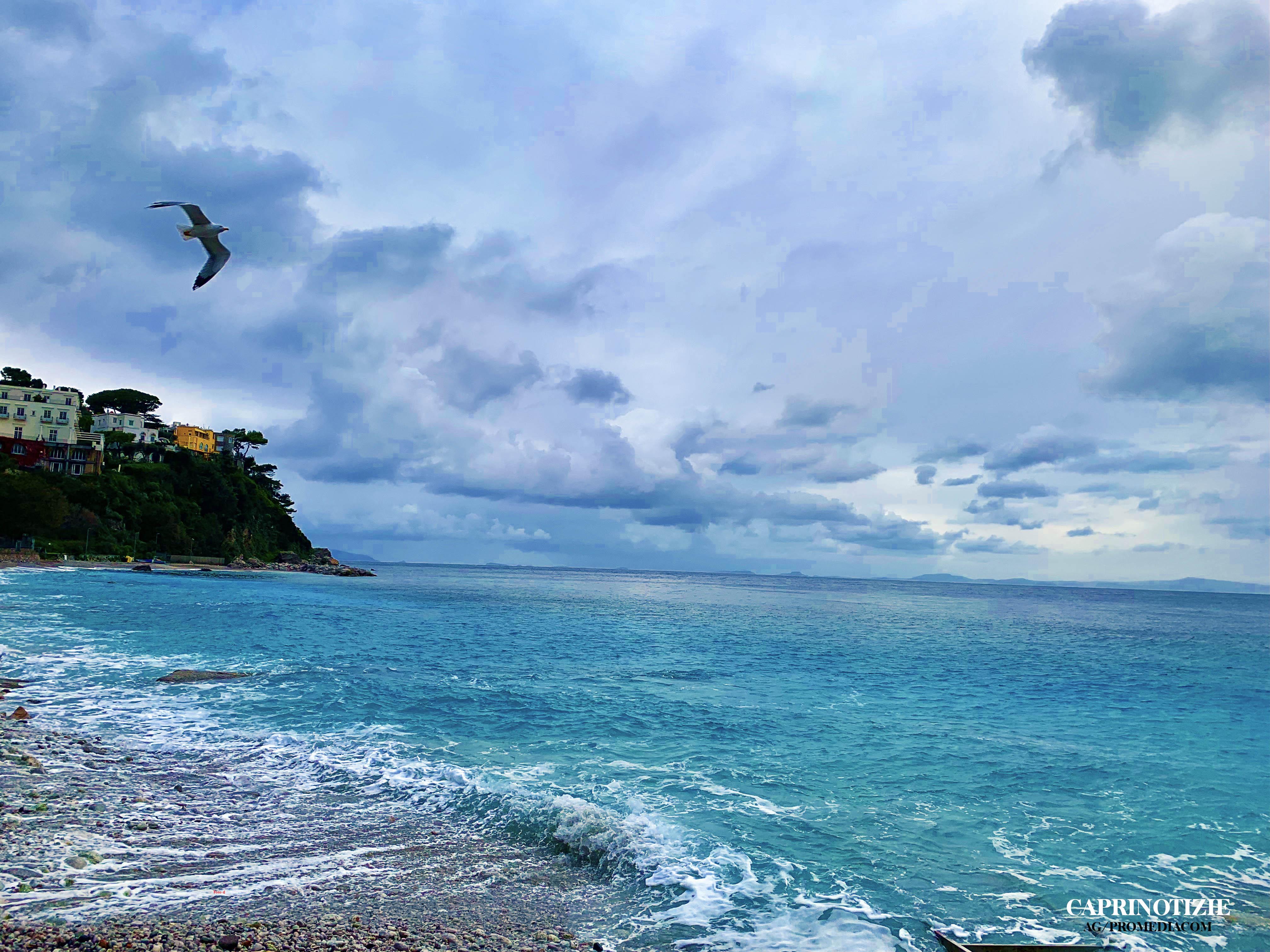 Capri. Il giorno dopo la Tempesta (LA FOTO DI OGGI)