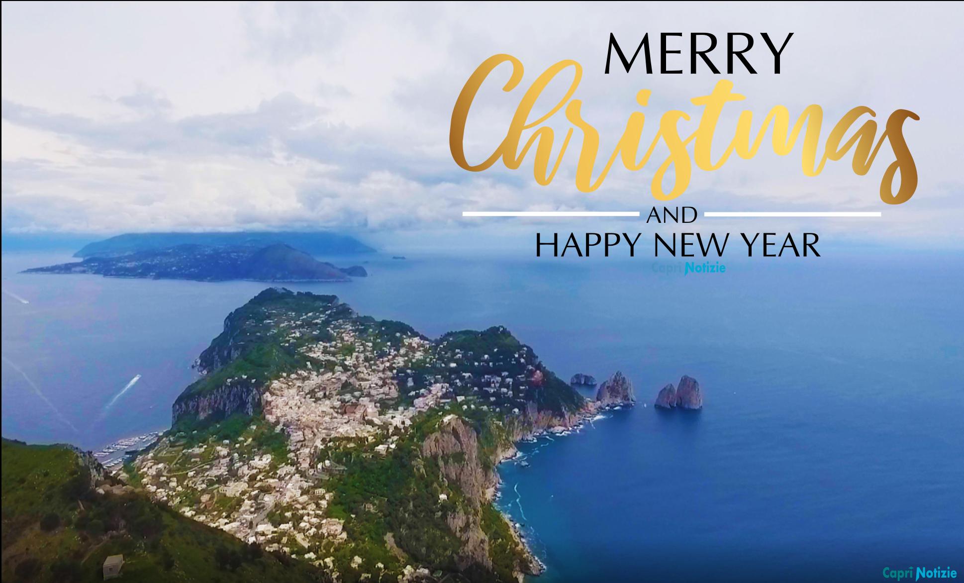 Buon Natale da Capri. La Tradizionale Cartolina di Auguri