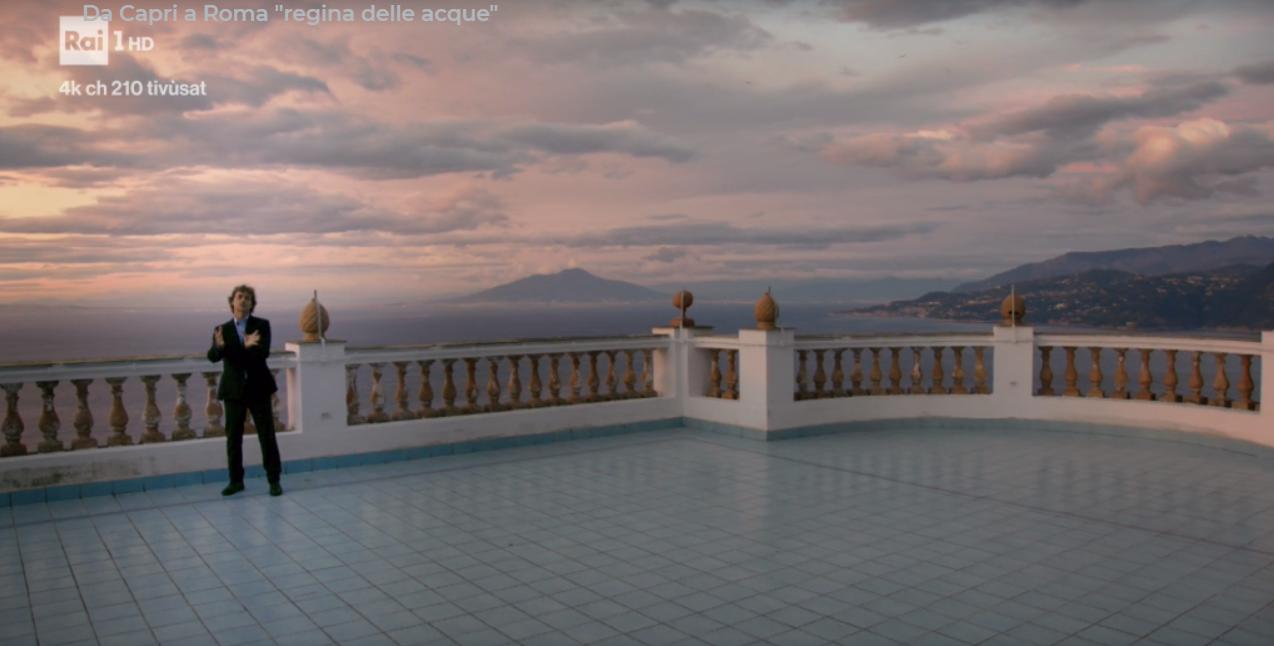 """Capri in Tv: Meraviglie di Alberto Angela """" Da Capri a Roma regina delle acque"""" Rai Uno (Puntata Completa)"""