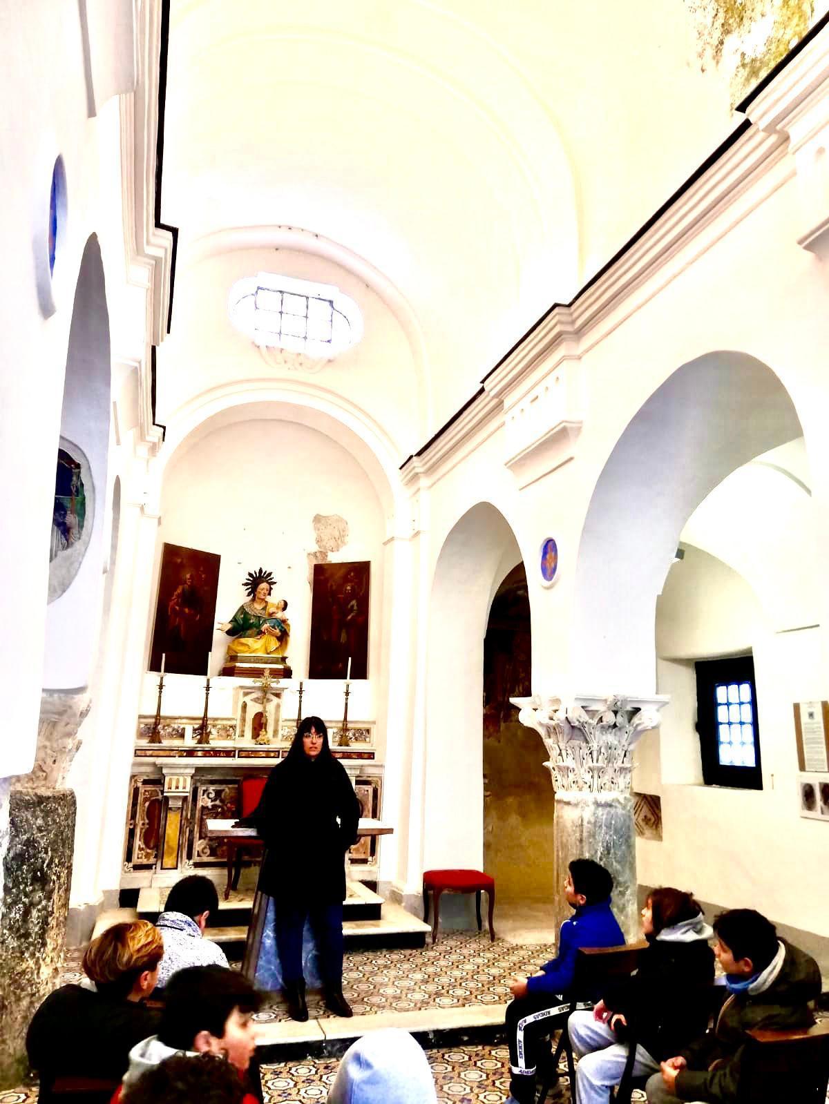 """Capri. Grande interesse per le gite/lezioni nella """"Capri Medioevale"""""""