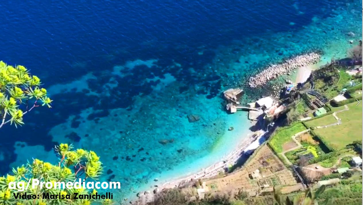 """Capri. Il Fascino e la Suggestione """"A picco sul mare"""" in pieno lockdown (VIDEO)"""