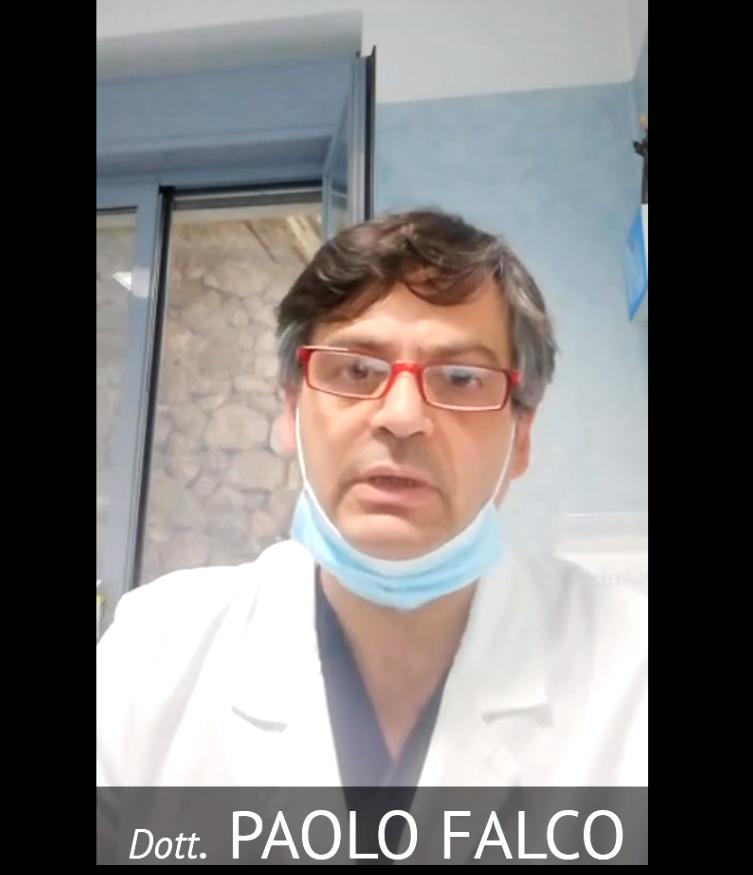 """Dott. Falco """"Fase 2 con Responsabilità, la battaglia contro il Virus é ancora in atto"""" (VIDEO)"""