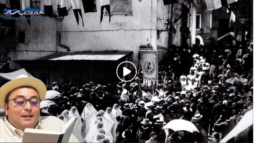 """""""In Onore di San Costanzo"""" l'evento online targato Nesea interpretato da Michele di Sarno (VIDEO)"""