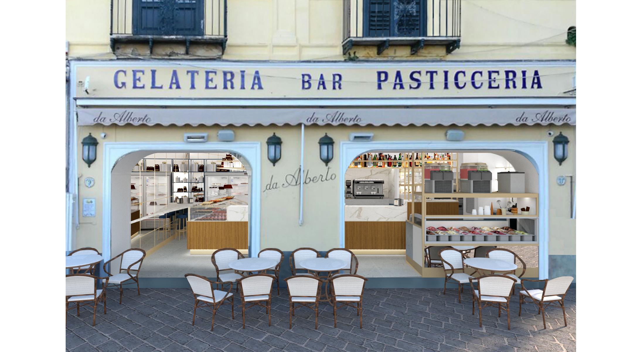 Capri. Riapre lo storico Bar Alberto dopo lavori di Restyling