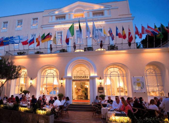 Capri. IL 1 luglio riaprono il Grand Hotel Quisisana e La Scalinatella
