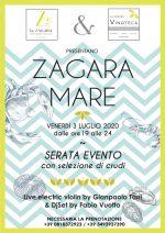 """Anacapri al via """"Zagara Mare"""" la prima serata Evento con live electric Violino di Gianpaolo Tani e il DjSet di Fabio Vuotto"""