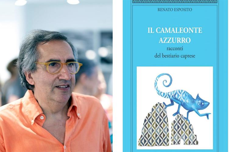 """""""Il Camaleonte Azzurro"""" del Prof. Renato Esposito sarà presentato Domenica 19 Luglio ad Anacapri"""