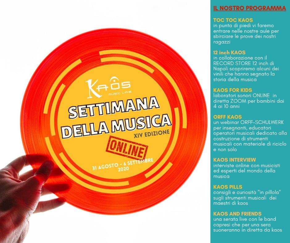 Capri. La Settimana della Musica, incontri Live a cura di Kaos Music Lab