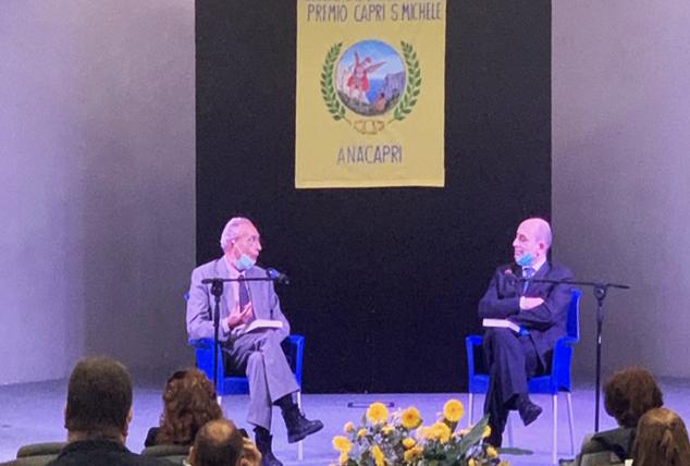 """La Consegna del Premio """"Capri San Michele"""" al giornalista caprese Luciano Garofano (FOTO e VIDEO)"""