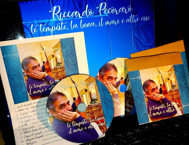 """""""Le Tempeste, La Luna, Il Mare e le altre cose"""" la nuova raccolta con tutti brani inediti di Riccardo Pecoraro"""
