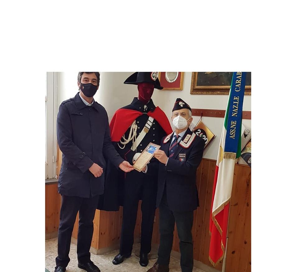 Al Giornalista Mauro Mantegazza il prestigioso riconoscimento dell' Associazione Nazionale Carabinieri sezione Salvo D'Acquisto