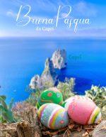 Buona Pasqua da Capri:  la Tradizionale Cartolina di Auguri del 2021 da Caprinotizie