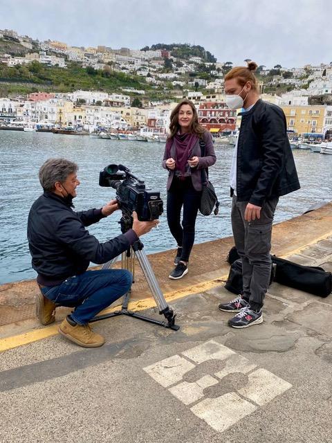 Capri protagonista sulla Tv Tedesca, il servizio andato in onda su ARD prima rete nazionale in Germania