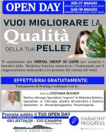 Open Day di Medicina Estetica alla Dental Group Capri, Peeling Gratuiti con la dott.sa Bucher