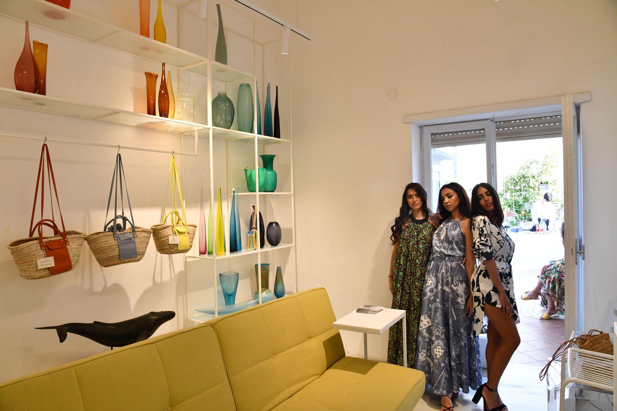 """Capri. da ZOOM Capri inaugurano le """"stanze"""" della moda e del design (Foto)"""