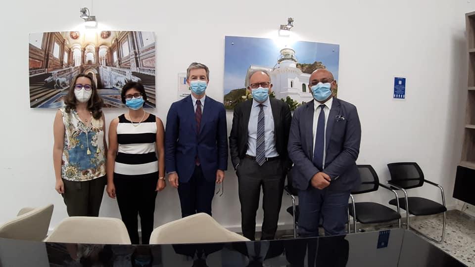 """Capri. Dal Demanio al Comune di Anacapri i famosi """"Fortini"""" insieme ad un programma per sviluppo turismo sostenibile"""