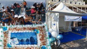 Capri. Un mare di Gioia, un mare di emozioni, grande successo della manifestazione, i ringraziamenti dell'Associazione Capri senza Barriere.
